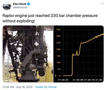 The Raptor engine.