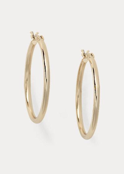 Lauren Gold Hoop Earrings