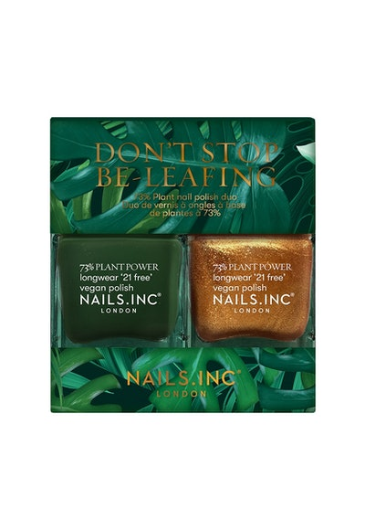 Don't Stop Be-Leafing Plant Based Nail Polish Duo