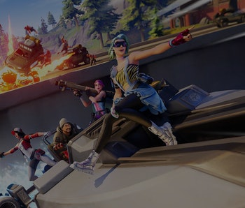 A screenshot from an Epic Games title