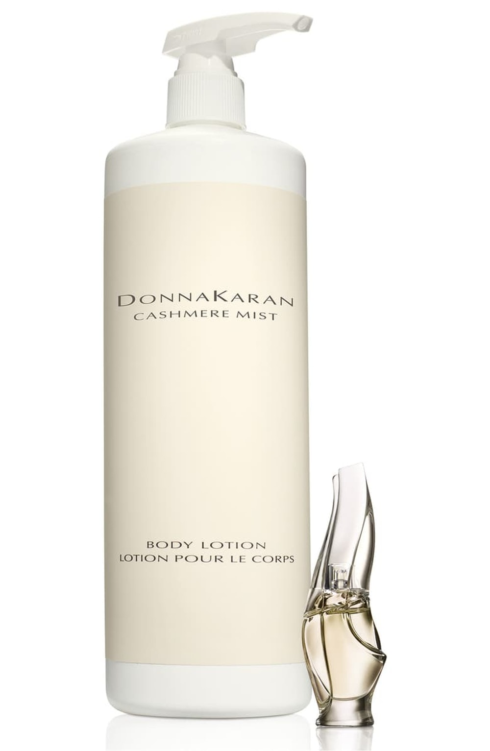 Donna Karan Cashmere Mist Jumbo Body Lotion & Travel Size Eau de Parfum