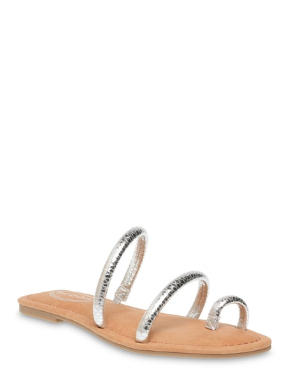 Sofia Strappy Flat Sandals