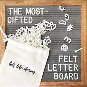 Felt Like Sharing Letter Board