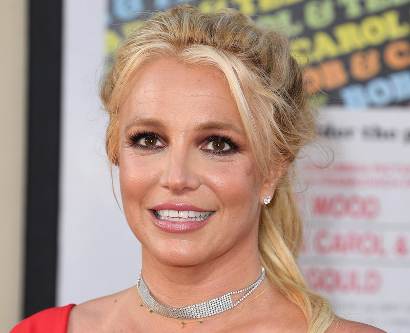 Britney Spears at a red carpet event