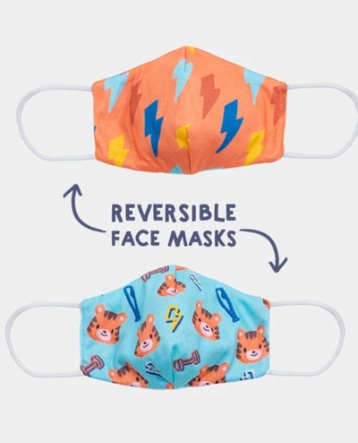 Cubcoats Reversible Face Mask in Tiger
