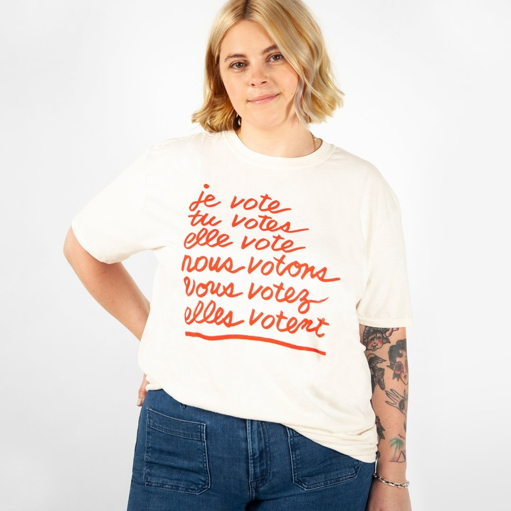 CV x When We All Vote Original Fit Tee