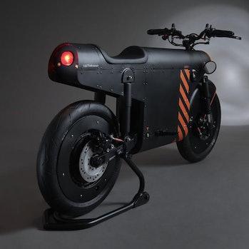 Katalis EV.1000 electric motorcycle.