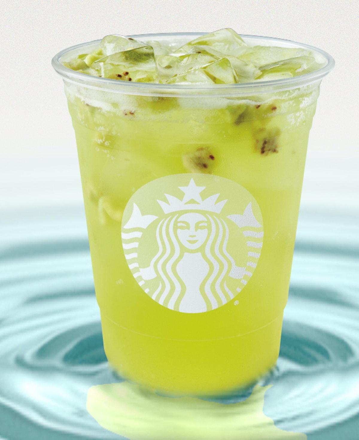 Here's how much caffeine is in Starbucks' Kiwi Starfruit Refresher.