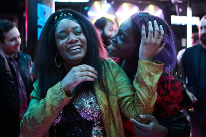 Weruche Opia and Michaela Coel in 'I May Destroy You.'