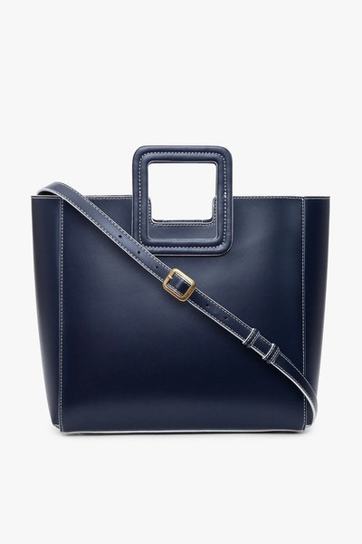 Shirley Leather Tote