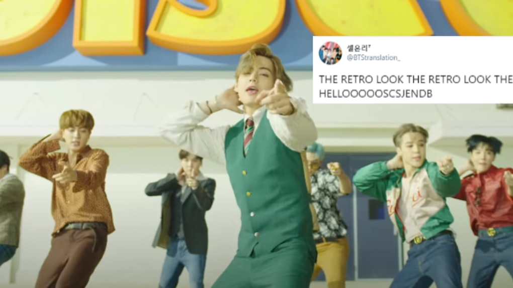 """The Tweets About BTS' """"Dynamite"""" Teaser Video Are Praising Its Retro Vibes"""