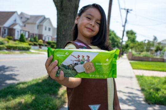 New Girl Scout Cookies, Toast-Yay!, will be available soon