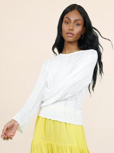 Long Sleeve Crewneck Sweater