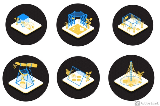 Fort Blueprints from the Cat Footwear Fort Challenge give families the chance to design imaginative ...