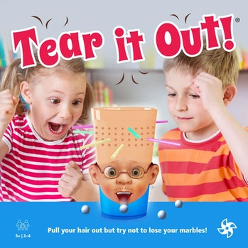 """""""Tear it Out!"""" is an AI-generated game concept."""