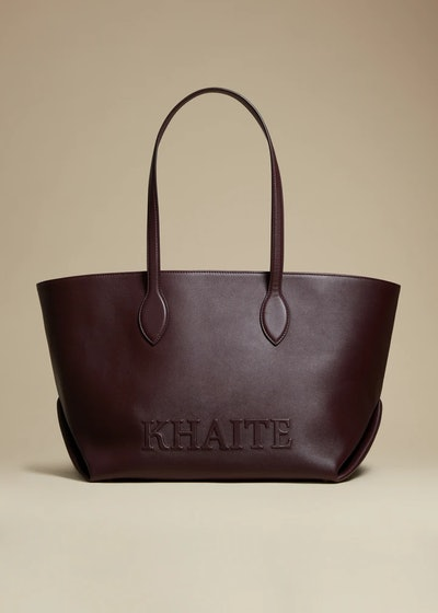 THE FLORENCE TOTE in Deep Red Leather Regular price