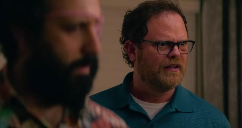 Rainn Wilson in the 'Utopia' trailer