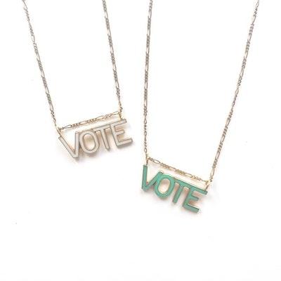 Michelle Starbuck Designs Limited Edition Vote Necklace