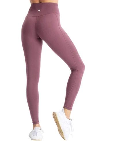 coastal rose High-Waisted Brushed Yoga Pants