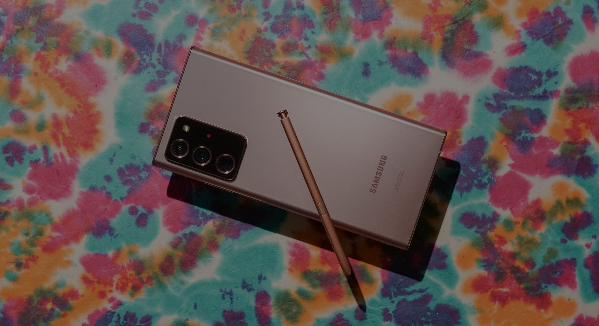The Galaxy Note 20 Ultra with S Pen.