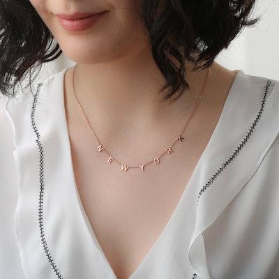 MyNameGifts Custom Vote Necklace