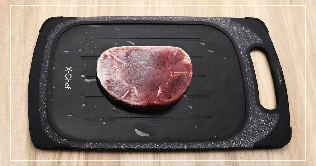 These Defrosting Trays Work Like Magic To Defrost Frozen Meat In No Time