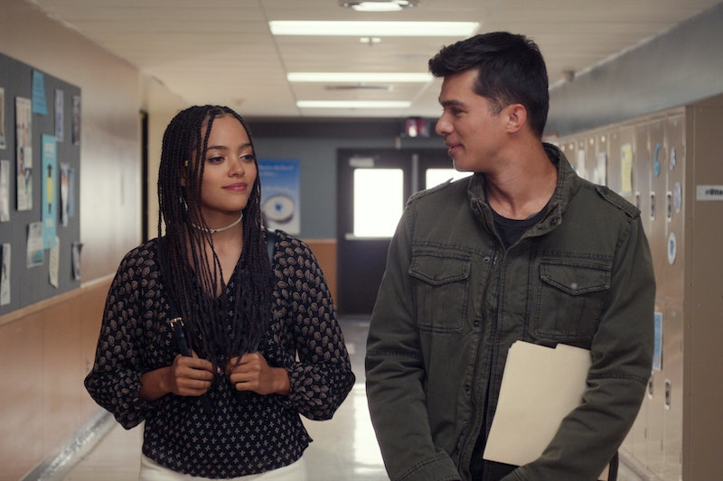 Quintess Swindell as Tabitha & Andrew Jacobs as Ben in 'Trinkets' Season 2 via Netflix press site
