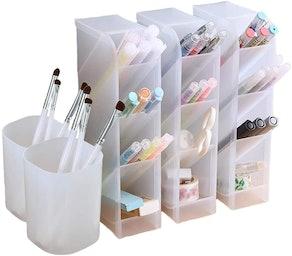 Marbrasse Desk Organizer Set (5 Pieces)