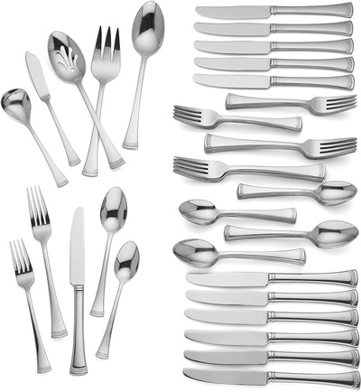 Lenox Portola Metallic Flatware Set (65-Pieces)