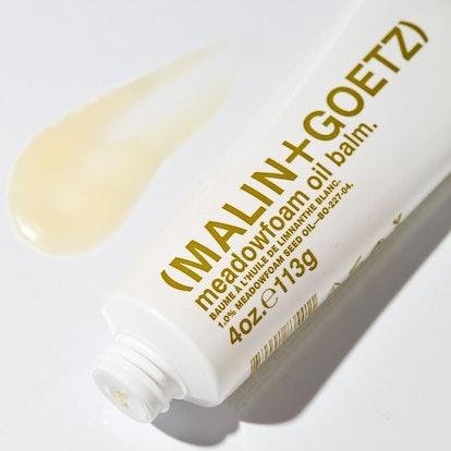 MALIN+GOETZ Meadowfoam Oil Balm, featuring meadowfoam seed oil.