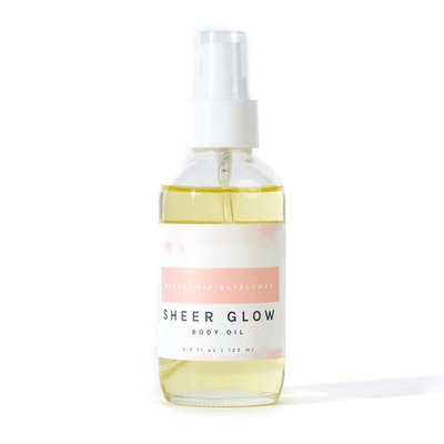 Macadamia Safflower Sheer Body Glow Body Oil