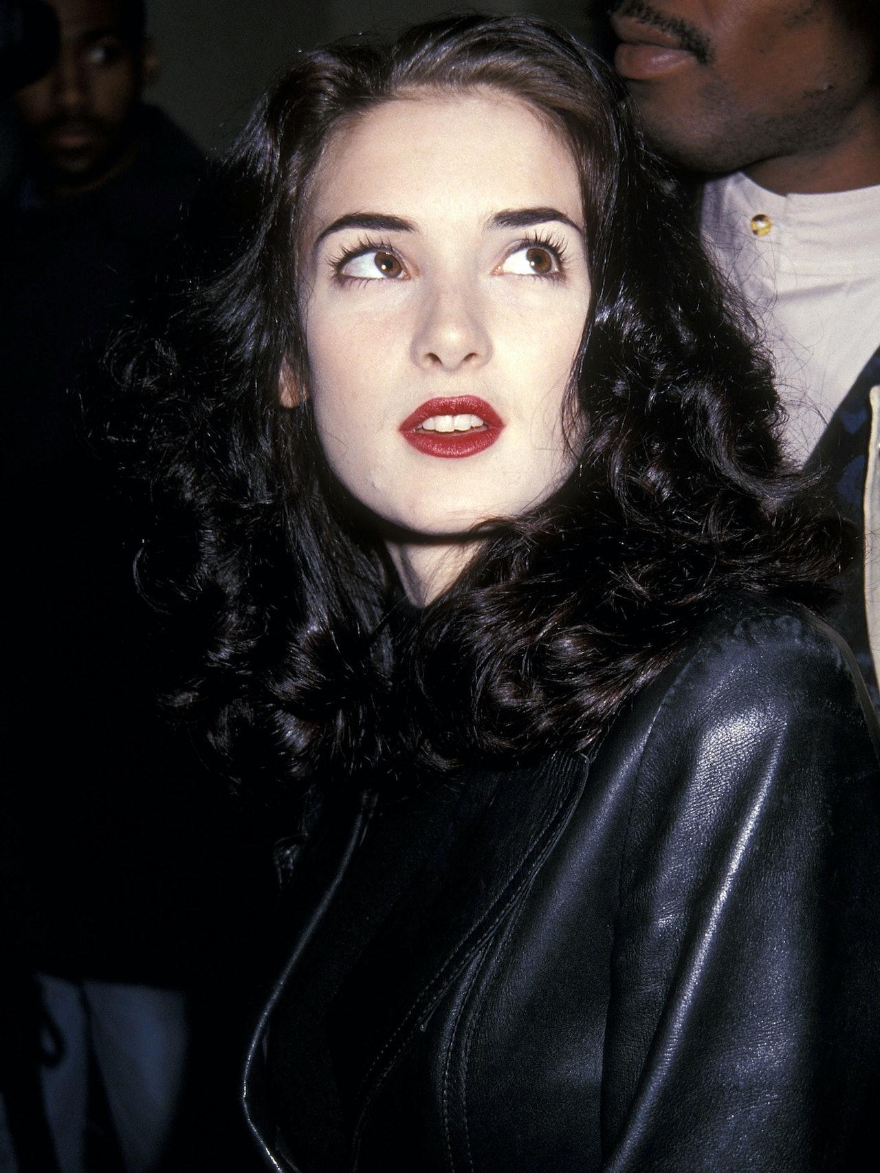 Winona Ryder S Best 90s Beauty Looks