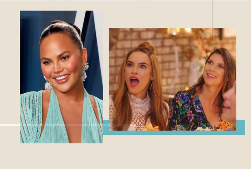 Chrissy Teigen Questioned The Reality Of Selling Sunset & Chrishell Responded