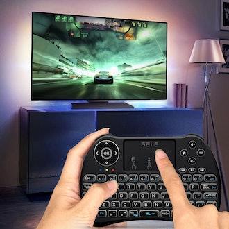 Backlit Wireless Mini Keyboard With Touchpad