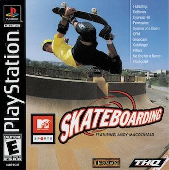 Andy Macdonald Skateboarding