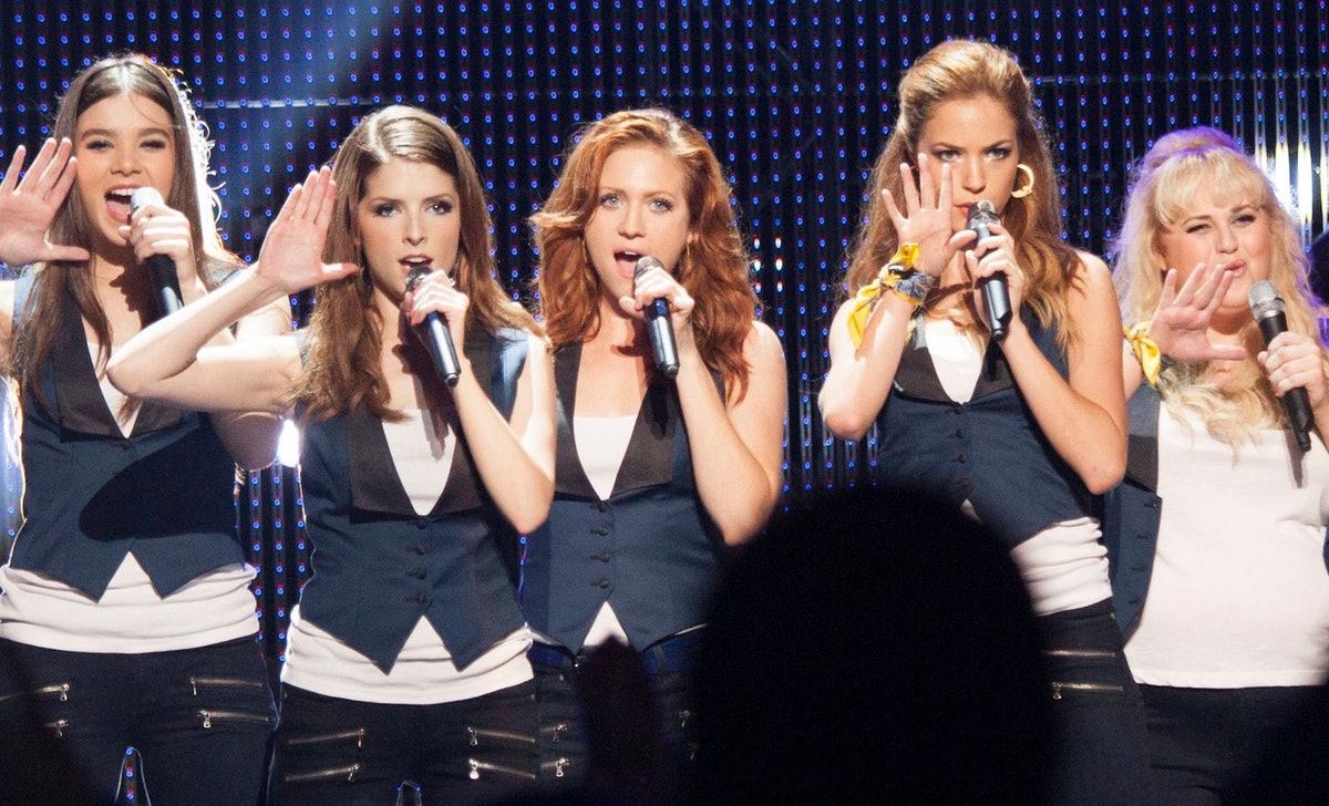 """The 'Pitch Perfect' cast reunited to perform """"Love On Top"""" by Beyoncé over Zoom."""