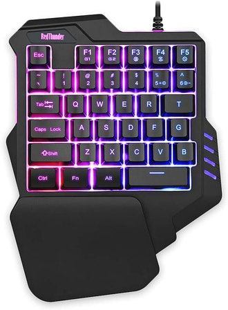 RedThunder One Handed Gaming Keyboard