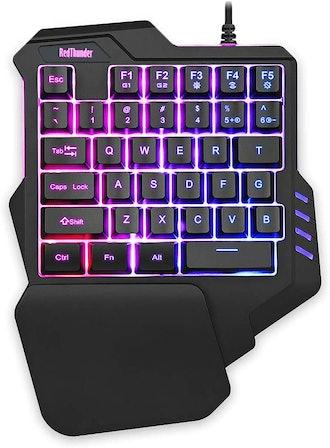RedThunder One Handed Gaming Keyboard