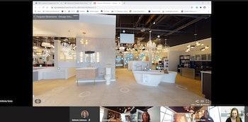The Ferguson virtual showroom.