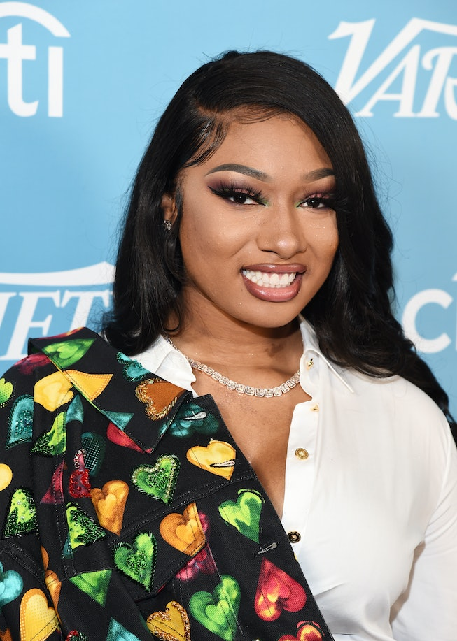 Megan Thee Stallion arrives at the 2019 Variety's Hitmakers Brunch at Soho House on December 07, 2019 in West Hollywood, California.