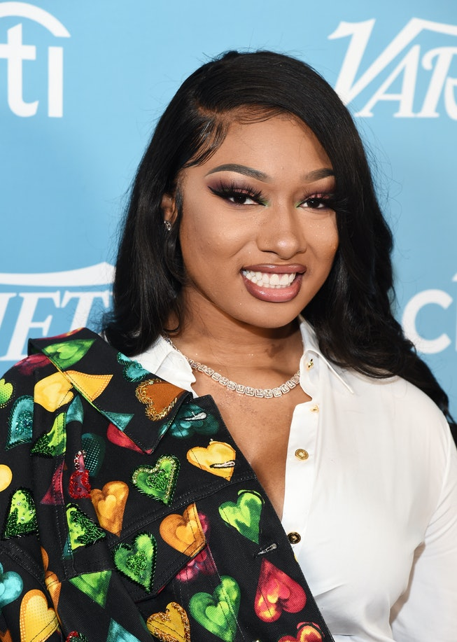 Megan Thee Stallion arrives at the 2019 Variety's Hitmakers Brunch at Soho House on December 07, 201...