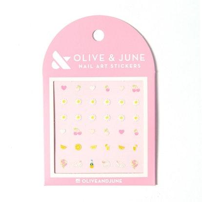 Loveliest Day Nail Art Stickers