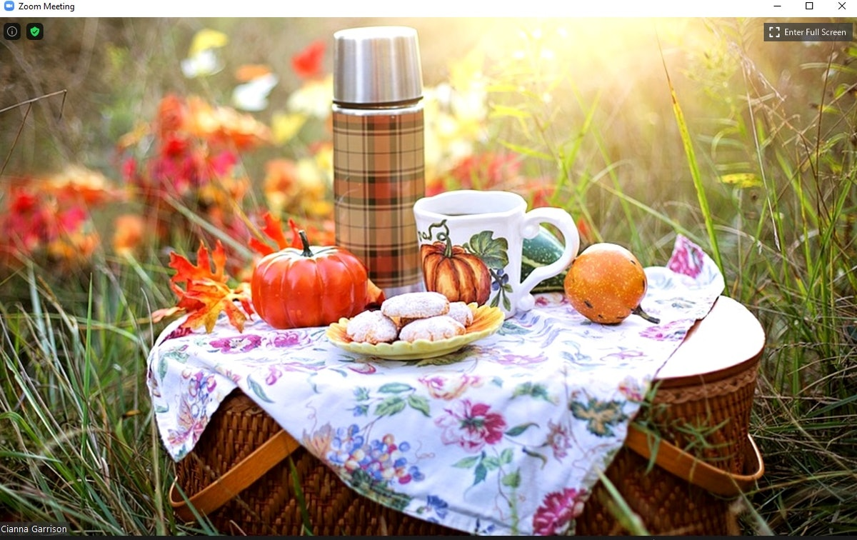 Here are some of the best fall-themed Zoom backgrounds you can use to enhance your calls.