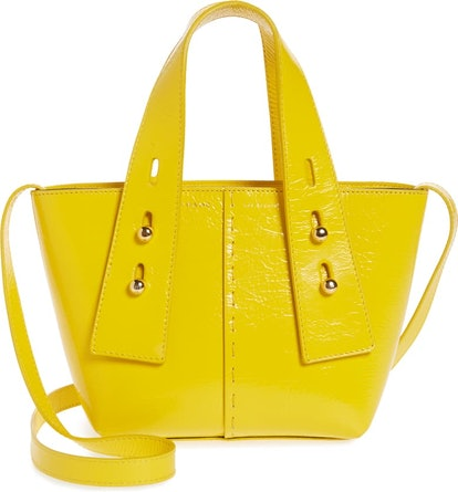 Mini Les Second Leather Crossbody Bag