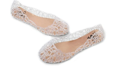 Chic Shoe Women Jelly Flats