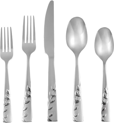 Cambridge Silversmiths Blossom Sand Flatware Set (20-Piece)