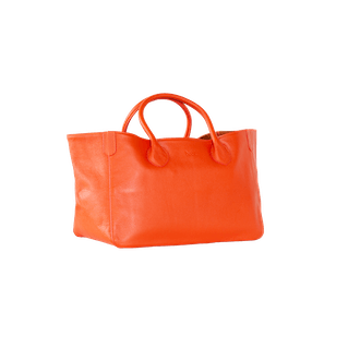 Small Classic Leather Beck Bag