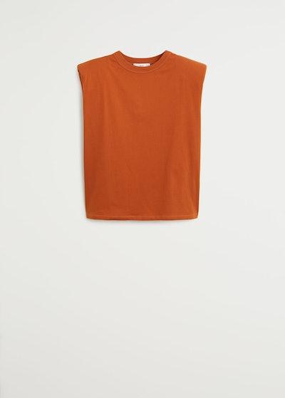 Mango Shoulder Pad T-Shirt