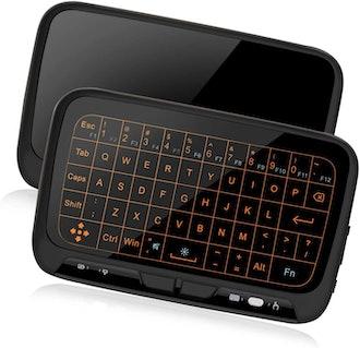 ILEBYGO Mini Wireless Keyboard Touchpad Combo