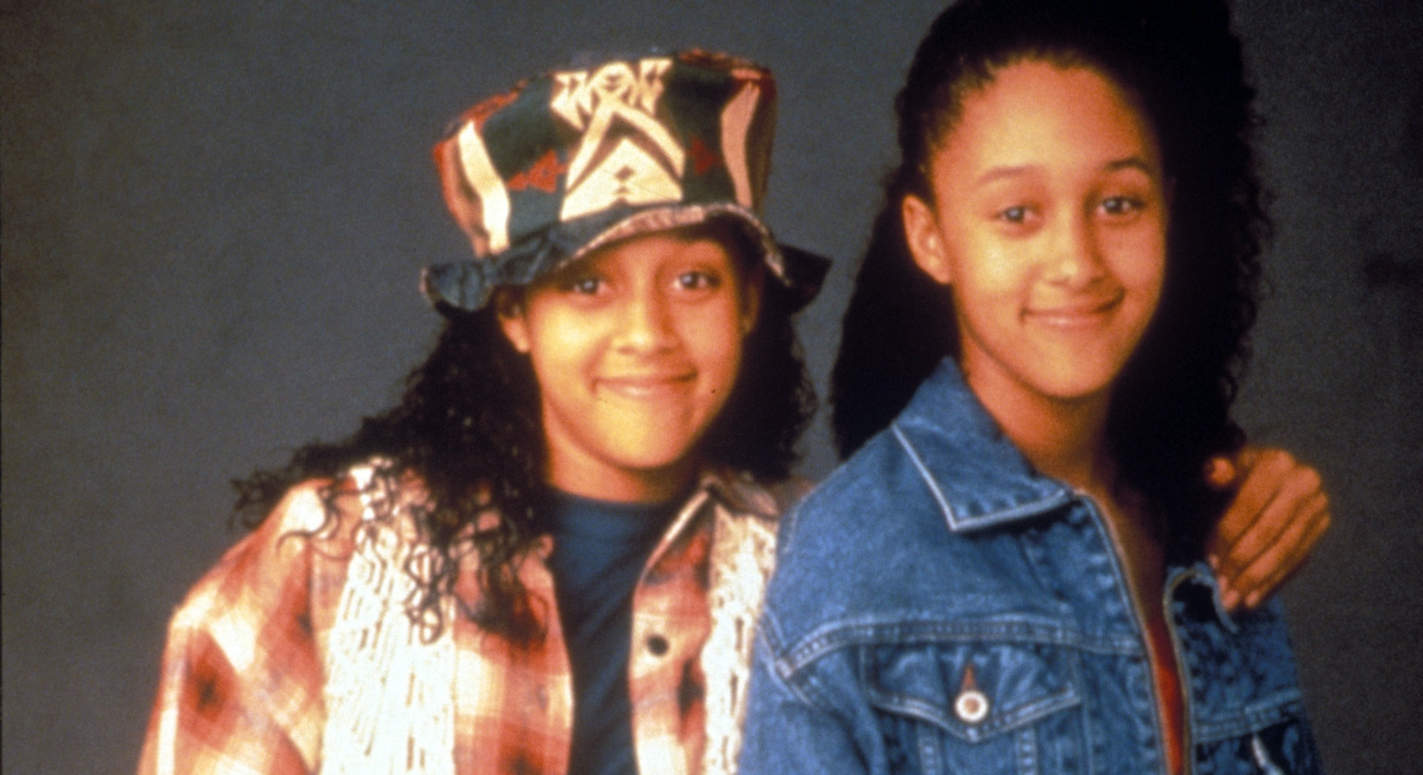 Tia and Tamera Mowry in 1994.